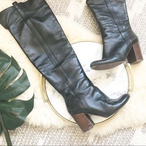 VC Signature • Kylar Leather Over the Knee Boots